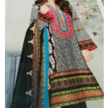 3 Piece - Embroidered Lawn Suit with Dupatta