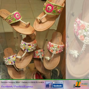 PE-SH-015 Traditional Ladies Shoes / Sandals